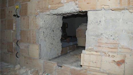 An open mafia bunker