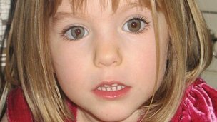 Madeleine McCann, undated. Family handout