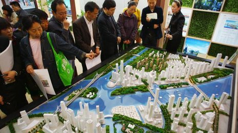 Real estate fair in Beijing, file photo