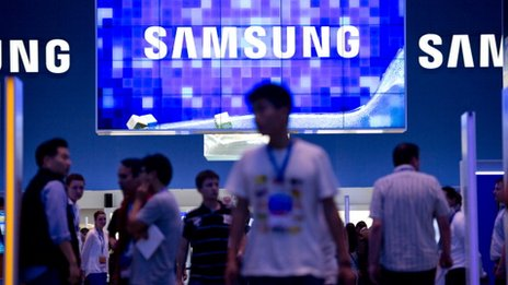 Samsung stand at a recent trade fair