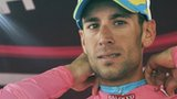 Race leader Vincenzo Nibali