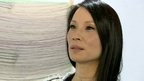 Actress Lucy Liu