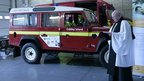 Caldey Island emergency vehicle