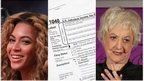 Beyonce, a US tax form, and Bea Arthur