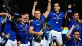 Leinster celebrate