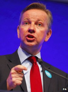 File photo dated 01/05/11 of Education Secretary Michael Gove