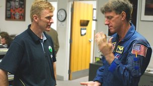 Tim Peake and Michael Foale (Robin McKie)