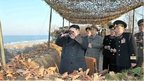 Kim Jong-un and North Korean generals (26 March 2013)