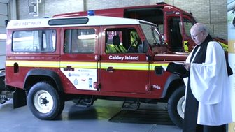 Caldey island&#039;s new vehicle