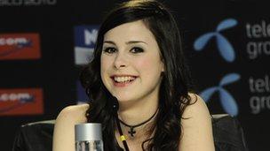 Germany's 2010 Eurovision winner Lena