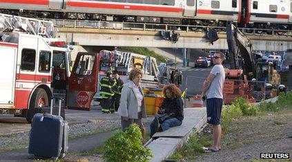 Connecticut train crash
