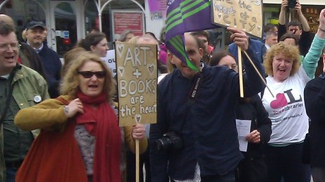 Unison protest