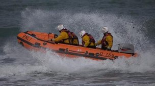 Bude inshore lifeboat George Bird