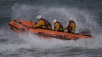 Naming ceremony for Bude lifeboat