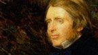 John Ruskin by Millais