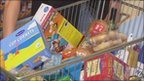 Supermarket trolley (generic)