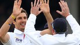 Steven Finn and Graeme Swann