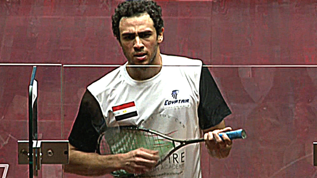 World number one Ramy Ashour
