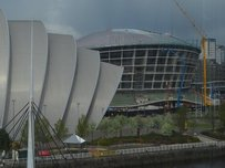 The Hydro arena is being built next to the SECC in Glasgow