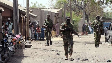 Boko Haram militants 'in disarray'...