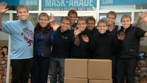 Stiliyan Petrov masks