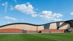 Surrey Sports Park (picture from University of Surrey)