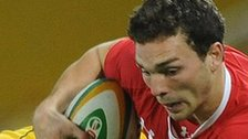 George North takes on Australia in 2011