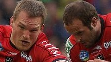 Gethin Jenkins helps Toulon win the Heineken Cup