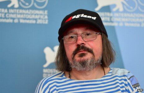 Alexei Balabanov at the Venice film festival, 7 September 2012