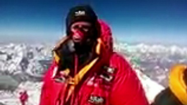 VIDEO: A call from the top of the world...