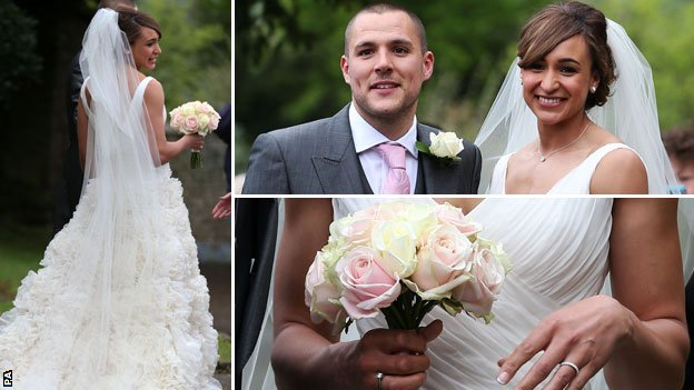 Jessica Ennis's wedding