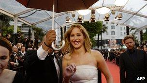 Jennifer Lawrence in Cannes