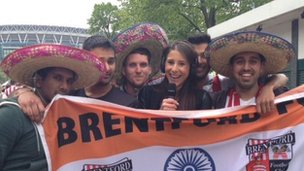 Brentford fans
