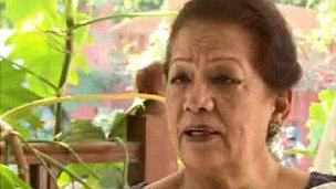 Zahra Shahid Hussain (grab from Insaf TV)