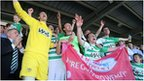 Yeovil celebrate