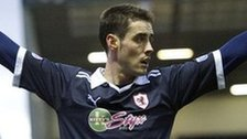Raith Rovers striker Brian Graham