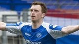 St Johnstone's Liam Craig celebrates