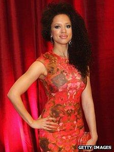 British Soap Awards Natalie Gumede