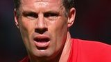 Liverpool defender Jamie Carragher