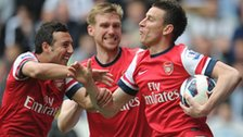 Arsenal celebrate