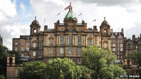 HBOS headquarters in Edinburgh