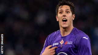 Fiorentina striker Stevan Jovetic