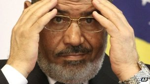 Morsi rules out Sinai hostage talks
