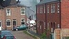 House explosion search suspended