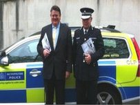 Deputy Mayor for policing, Stephen Greenhalgh and Deputy Commissioner for the Met, Craig Mackey