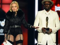 Madonna and Will.i.am