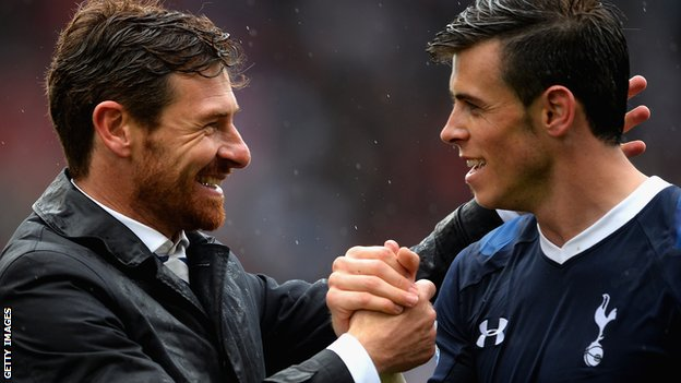 Andre Villas-Boas & Gareth Bale