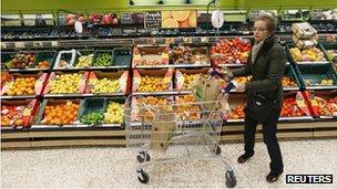 Tesco shopper