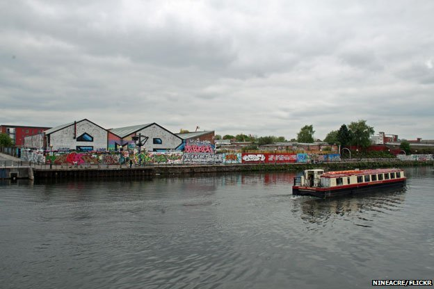 Salford's 'Graffiti Palace'