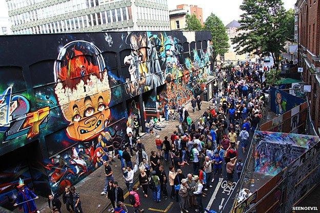Bristol 'SeeNoEvil' festival
